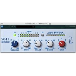 (Steinberg RND Portico 5043 Compressor Plug In (Mac and Windows VST))