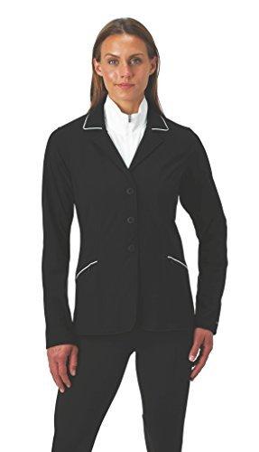 White Show Jacket - Kerrits Competitor'S Koat Black/White Size: Extra Large