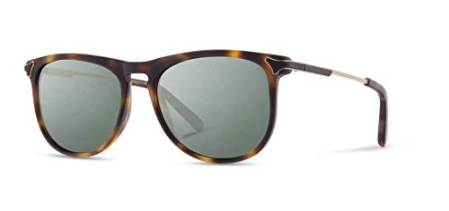 Shwood - Keller Rectangle Acetate & Wood Sunglasses - Matte Brindle ()