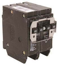 Eaton BQ240240 Bq Quad Breaker Two 2 Pole 40A IT, 1'' x 1'' x 1'' by Eaton (Image #1)