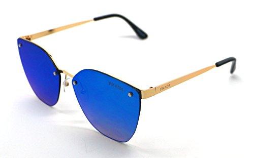 Gafas de Sunglasses Sol Azul Calidad Hombre PK3025 Pkada Mujer UV 400 Alta F1TcFpr