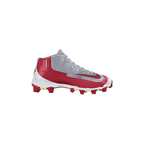 - Nike Boy's Huarache 2KFilth Keystone (GS) Baseball Cleat Wolf Grey/White/Red Size 6 M US