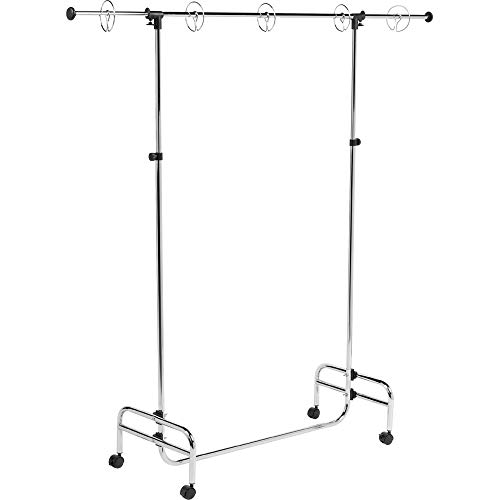 Pacon  Adjustable Pocket Chart Stand, Metal, Locking Casters and Rings,  Adjustable to 78