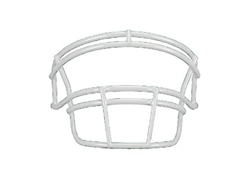 Schutt DNA ROPO YF Youth Faceguard (White, Youth) (Football Face Adult Guard)