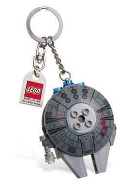 Millennium Falcon Bag Charm 2 1//2 LEGO Star Wars