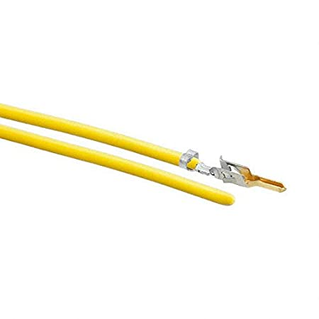 10 PRE-CRIMP A2040 YELLOW 0039000219-10-Y0 Pack of 100