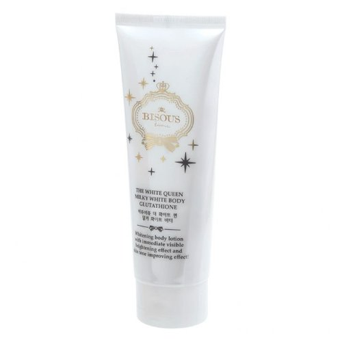 Bisous Bisous the White Queen Milky White Body Glutathione 100 G