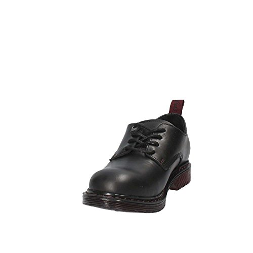 2018 pelle WL172572 scarpe in 37 nere stringate Wrangler donna eu inverno xqwH88S