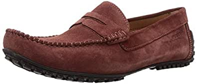 Ruosh Casual Men's Loafers & Moccasian 45 EU Shoes, Red