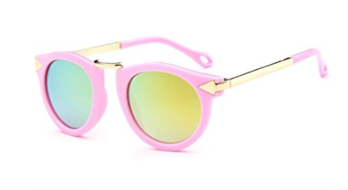 GAMT Children's Sunglasses UV Sunglasses Metal Arrow Pink gold frame - Sunglasses Girl Toddler