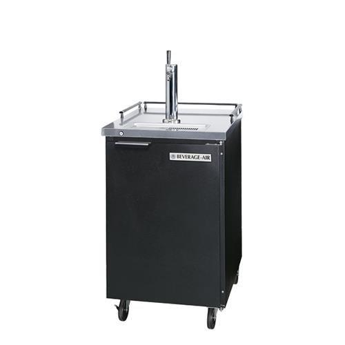 Beverage Air Bm23-b 7. 8 Cu. Ft. Beer Dispenser - Stainless Steel Top / Black Cabinet by Beverage Air
