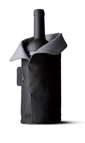 Menu 4658079 Cool Coat Weinkühler, schwarz / grau