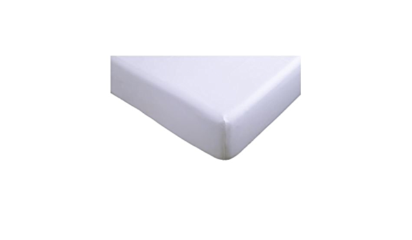 IKEA SOMNIG - sábana ajustable, blanco - 160x200 cm: Amazon ...