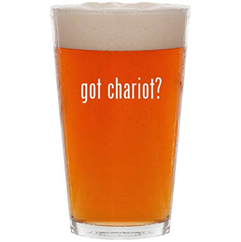 got chariot? - 16oz All Purpose Pint Beer Glass