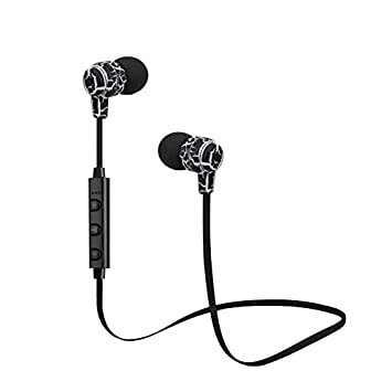 176394126e9 BLUEHUAF Wireless Bluetooth Earphones Sport Running Headphones Stereo Super  Bass Headset Earbuds Handsfree With Mic,