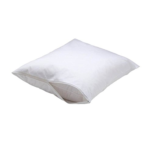 AllerEase Select Hot Water Washable Pillow Cover Jumbo, Whit