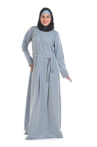 Momin Libas Steel Gray Maxi Abaya & Burkha Dress