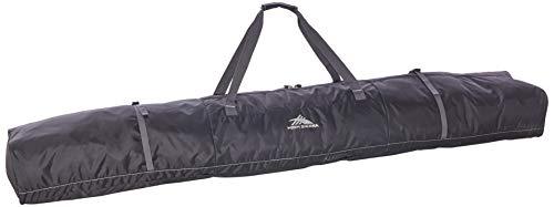 High Sierra Double Ski Bag, Black/Mercury -