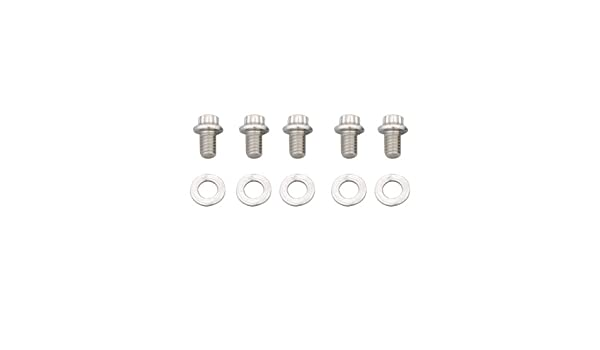 ARP 612-3000 Stainless Steel 5//16-18 RH Thread 3.000 UHL 12-Point Bolt with 3//8 Socket and Washer, Set of 5