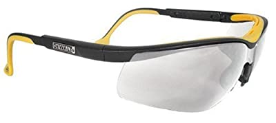Dewalt DPG55-6C Dual Comfort Silver Mirror High Performance Protective Safety Glasses with Dual-Injected Rubber Frame and Temples by Dewalt