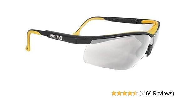 Frost Frame Clear Lens Bearkat Safety Glasses