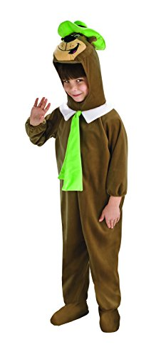 [Rubies Deluxe Yogi Bear Child Costume, Medium, One Color] (Yogi Bear Halloween Costume)