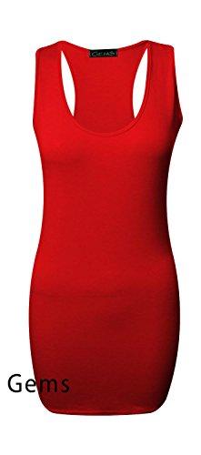 Generic - Robe - Femme Rouge Rouge M/L
