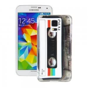 Stylish PC Protective Case with Tap Pattern for Samsung Galaxy S5/i9600