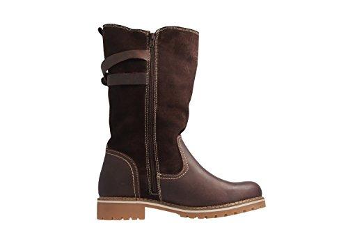 Mustang Damen Stiefel - Braun Schuhe in Übergrößen
