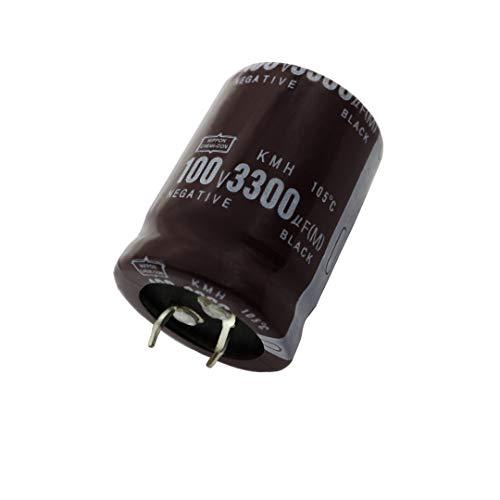 Plastic Housing 3300uF 100V 105 Celsius Degree Aluminum Electrolytic Capacitor 30x40mm