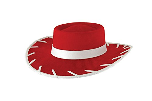 Toy Story Jessie Costume Accessories (UHC Boy's Toy Story Jessie Cowboy Hat Child Halloween Costume Accessory (Red))