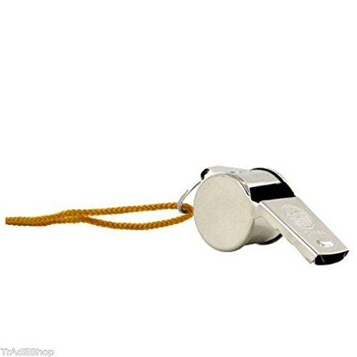 tradeshoptraesio®–Silbato Silbido de metal con cinta