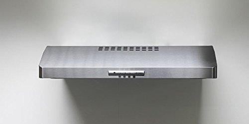 Faber LEVA30SS300-B 30″ 300 CFM Levante I Under Cabinet Range Hood, Stainless Steel