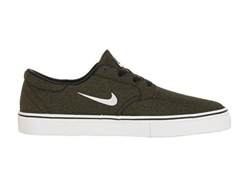 Nike Mens Sb Kopplings Skateboard Skor Svart / Ren Platina / Medeloliv