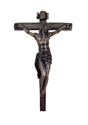 Home Originality Religious Jesus Christ on Cross Crucifix Wall Decoration, 14 Inch (Cross Wall Christ Jesus)