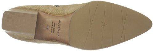 Aquatalia Womens Fire Perforated Suede Enkellaarszand