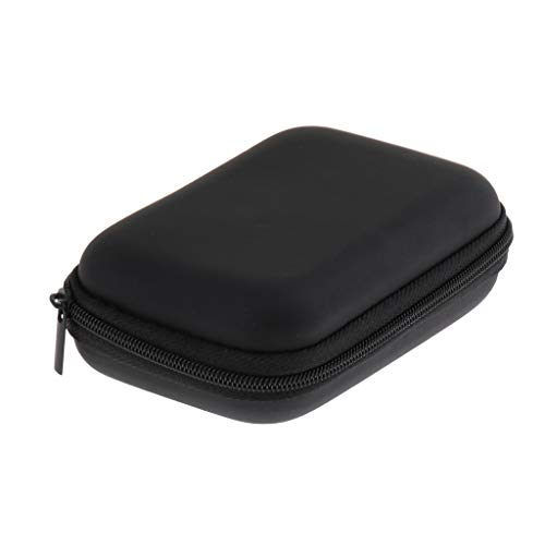 Organiser Mini - Flameer Finest Black Microphone Accessories Case Mini MIC Organiser Container - Square Box, as described
