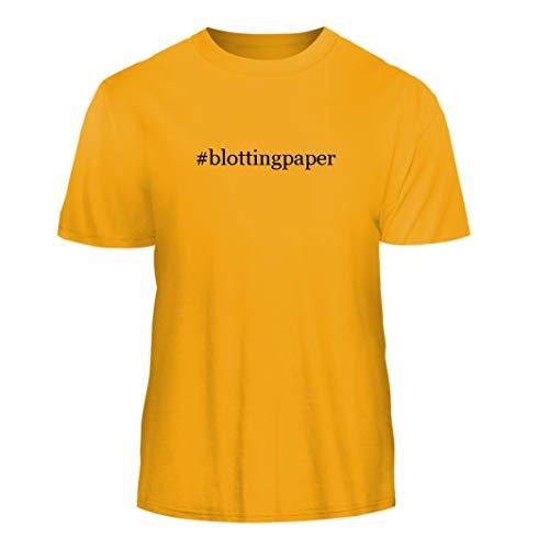 - Tracy Gifts #blottingpaper - Hashtag Nice Men's Short Sleeve T-Shirt, Gold, X-Large