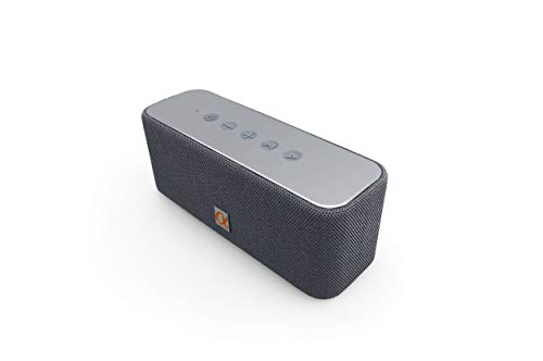 Alphasonik CORE Home Wireless Bluetooth Portable Speaker with HD Sound and Bass, Built-in Mic, Micro USB, Auxilliary 3.5mm and Built in 2000mah Long Lasting Battery for iPhone, Samsung