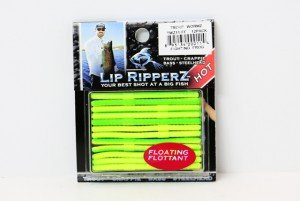 (Lip Ripperz Trout WormZ Lure, 2-1/2-Inch, Fighting Frog)