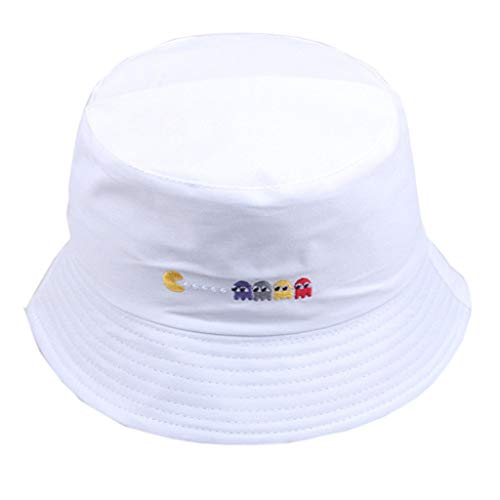 Kiminana Men and Women Wear Fisherman Hats and Caps Casual Travel Sunshade Hat Classic Cotton Hat with Wind Lanyard ()