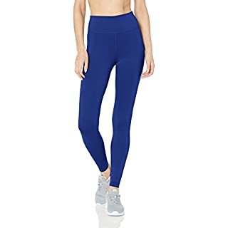 Nike Women's All-in Tight, Deep Royal Blue/Black, Large