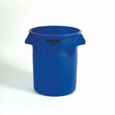 - BRUTE® 20-Gal Round Containers [Set of 30] Color: Blue