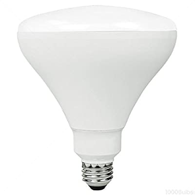 TCP 85W Equal 2400K BR40 LED Light Bulb - Dimmable 12W - LED12BR40D24K