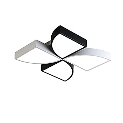 CUICAN Modern Nordic Ceiling Light LED,Creative Simple Iron Eye Protection Cartoon Windmill Surface Mounted Ceiling Lamp for Bedroom Kids Room