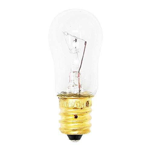 WR02X12208 Light Bulb Refrigerator Ice & Water Dispenser Light Bulb 6 watt, 12V, 1-7/8