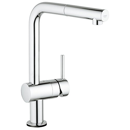 Minta Touch Single-Handle Pull-Out Kitchen - L-shaped Faucet