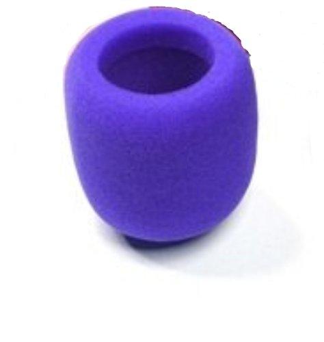 (Liroyal Pack of 10 PCS Purple Handheld Stage Microphone Windscreen Foam Cover)
