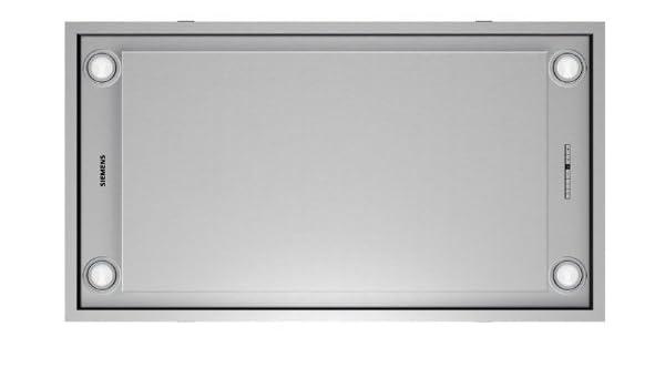 Siemens LF959RB50 De techo Acero inoxidable 760m³/h - Campana (760 m³/h, Canalizado/Recirculación, 64 dB, De techo, Acero inoxidable, 20 W): Amazon.es: Hogar