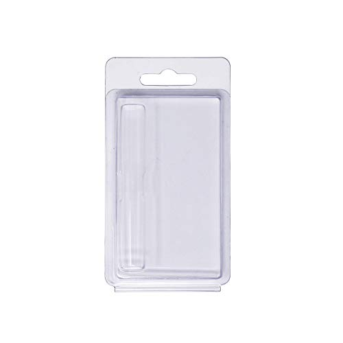 Business Card Size Clamshell Blister Packaging for 1ml Cartridges - Packaging ONLY (50 Pack)